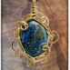 bronze-azurite-pendant-oval