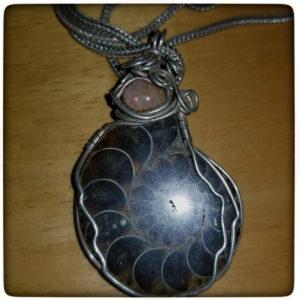 fossil-fire-opal-pendant